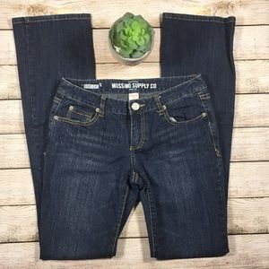 Mossimo Supply Co. Boot Cut Juniors size 7 long